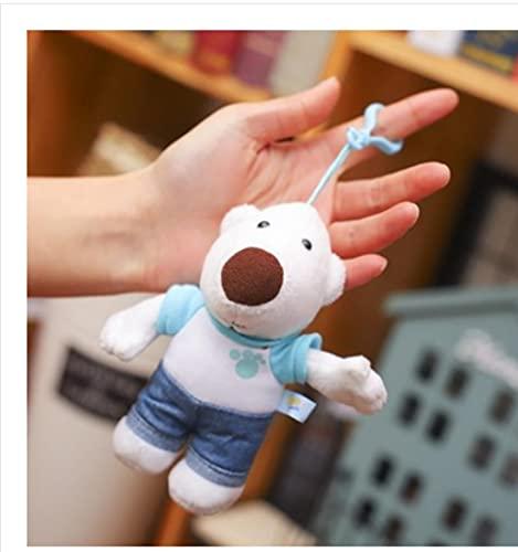 NC001 Genuine pororo Po Lele Doll Little Penguin Polulu Polulu Harry Plush Toys Children's Dolls Small Pendant 14cm Bobby