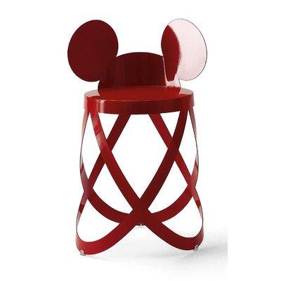 Cappellini Mickey's Low Ribbon Taburete -Edición Limitada-Rojo