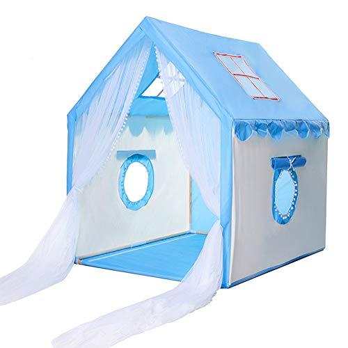 Solid Wood Children's Tent Bed, Children's Oversized Toy Play House, Klamboe Anti-Mosquito, ademend mesh Venster, Het aanpassen 3~4 Kinderen,3