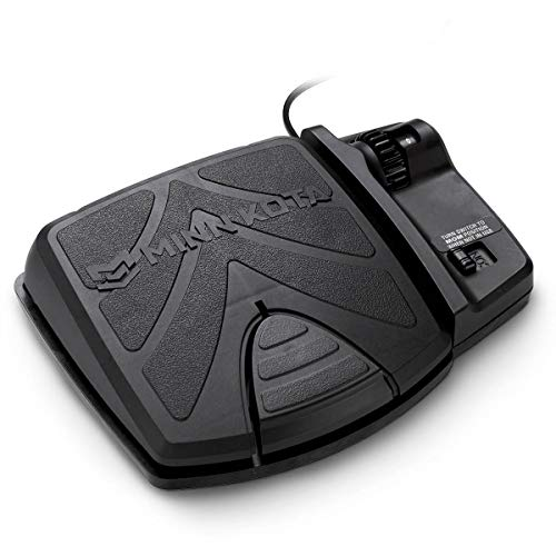 Foot pedal to control the power