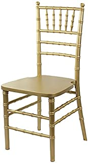 48 Gold Wood Chiavari Chairs with 48 Chiavari Covers and 1 Dolly Bundle