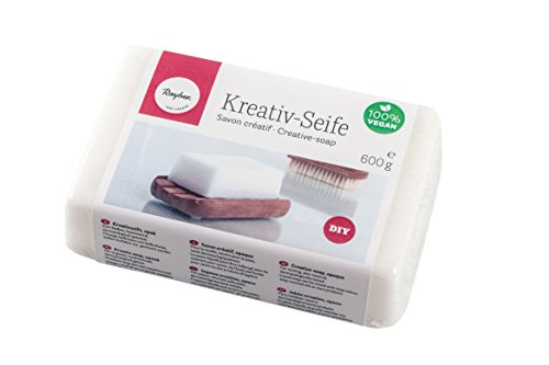 RAYHER creatieve zeep, blok 600G, zeep, 15 x 9,6 x 4 cm
