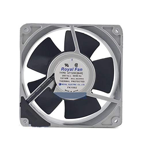 UT125C[B40] Royal Fan 200V 120mm - 12038 15/14W 39DB All Metal Cooling Fan