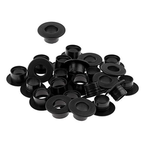 Sharplace Tischfußball Zubehör - 12 Stück Gleitlager Set, Kickerstangen Gleitlager mit Gewinde