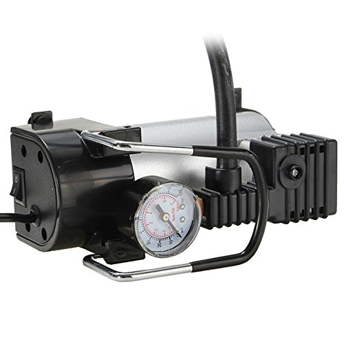 Gazar Luchtcompressor, krachtige 12 V, 100 psi-pompen, elektrische bandeninflator auto-onderhoud