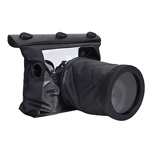 WolfGo große Kapazitäts-Kamera Unterwassergehäuse, 20M Kamera trockener Unterwasserbeutel, DSLR Kamera-Zubehör - Feuchtigkeitsbeständig Kamera Aufbewahrungstasche