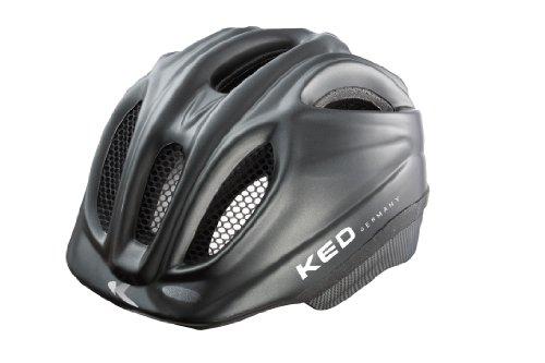 KED Meggy - Casco de Ciclismo Infantil, Color Negro, Talla M (52-58 cm),Talla M (52-58 cm)