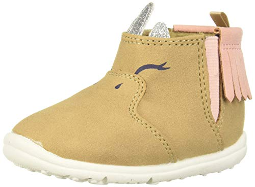 Timberland Baby Toddle Tracks Faux Shearling Bootie Fashion Boot, Wheat Nubuck, 4 Medium US Toddler