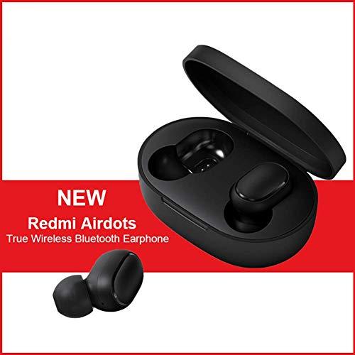 Dewanxin per Redmi AirDots, TWS Bluetooth 5.0 Cuffie Redmi Airdots Auricolari, Chiamate Binaurali, Cuffie con Rumore Attivo di Cancellazione DSP, Auricolari HiFi, Auricolari Stereo ON/off Automatici