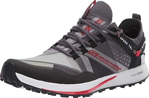 Skechers Go Run Speed Trail Charcoal/Red Men's 13, Women's 14.5 Medium