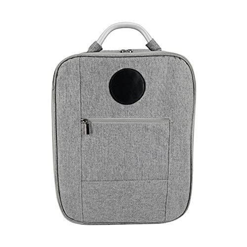 GeKLok Mochila para DJI FPV Drone, portátil viaje drone accesorios bolsa de almacenamiento impermeable a prueba de golpes, bolsa de almacenamiento sin deformación, 38 x 30 x 15 cm