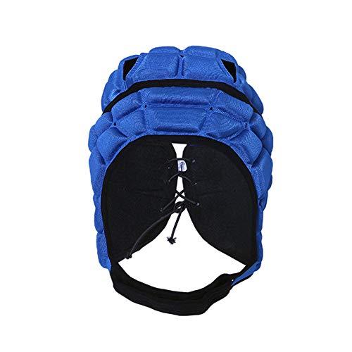 Xpccj Casco de rugby para niños, protección de cabeza de rugby, equipo multideporte, rugby, casco acolchado, protector de cabeza ⭐