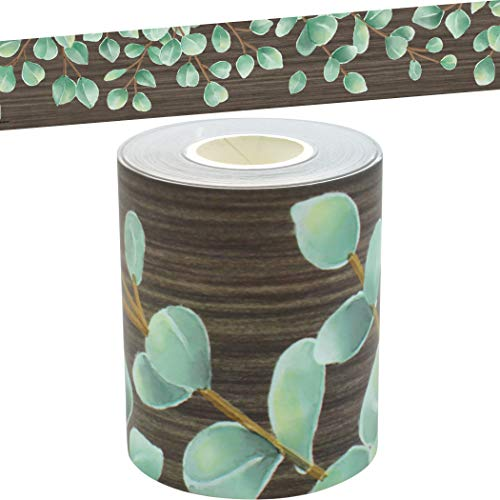 Eucalyptus Straight Rolled Border Trim