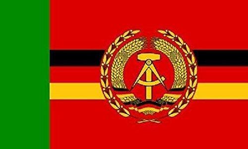 U24 Aufkleber DDR Grenzbrigade Küste Flagge Fahne 15 x 10 cm Autoaufkleber Sticker