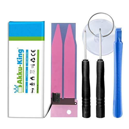 Preisvergleich Produktbild Akku-King Akku kompatibel mit iPhone 5S - Li-Polymer 1590mAh - mit Öffnungswerkzeug / Klebestreifen
