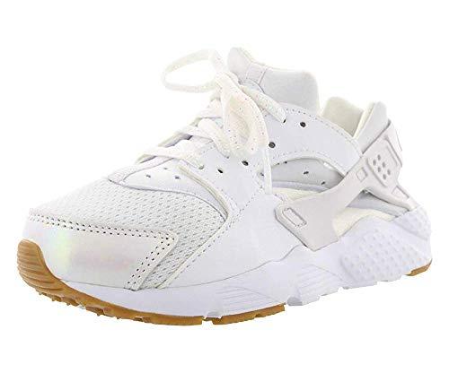 Nike Huarache Run SE (PS) Scarpe da corsa da ragazzo taglia, (Prisma bianco rosa gomma marrone chiaro), 44 EU
