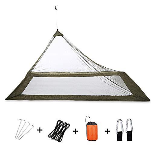 YYYY Lit extérieur Portable en Pyramide légère, Filet Anti-Insectes pour la randonnée, Double moustiquaire pour Le Camping et Les Voyages (220 * 120 * 100cm)