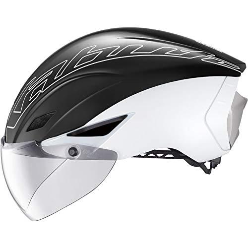 オージーケーカブト(OGK KABUTO) 自転車 ヘルメット OGKカブト AERO-R1 CV オーバーシェルモデル カラー:パールホワイト サイズ:S/M (頭囲 55-58cm)