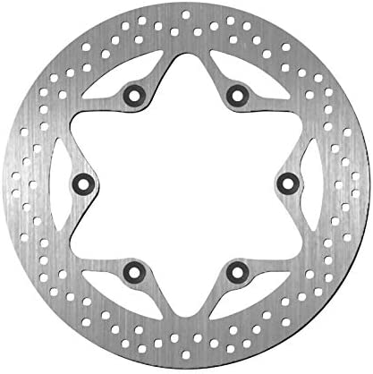 BikeMaster Rear Brake Rotor for 2001-2 Black Animer and price revision Special Campaign VT750DC Honda Widow