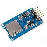 F-Mingnian-rsg 5PCS Tarjeta de Almacenamiento Micro SD Mciro SD TF Tarjeta Módulo de protección de Memoria SPI para promoción Arduino