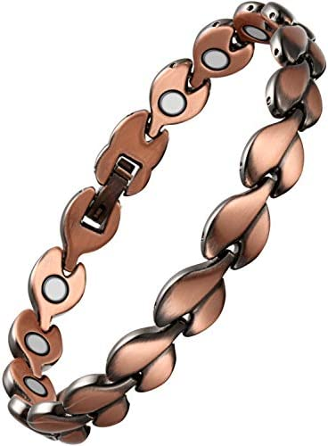 WELMAG Copper Magnetic Bracelet for Women for Arthritis Pain Relief product image