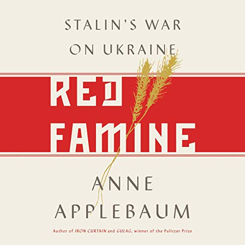 Red Famine audiobook cover art