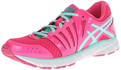 Asics Asics - Kinder-Gel Lyte33 2 Gs Laufschuhe, Hot Pink/Ice Blue/Emerald, 39.5 EU