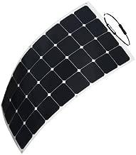 HQST 100 Watt 12V Monocrystalline Lightweight Solar Panel for RV/Boat/Other Off Grid Applications