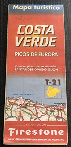 Mapa firestone t-21 costa verde (Spanish National & Regional Maps S.)