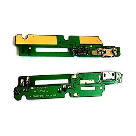 ROBO USB Charging Port Dock Connector Flex Cable Replacement Part Compatible with Gionee M5 Lite