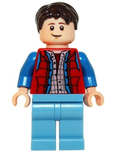 Lego Back to the Future - Marty McFly Minifigure from Set 21103