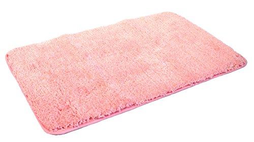 Mesana Tappeto Uni Rosa 60 x 100 cm