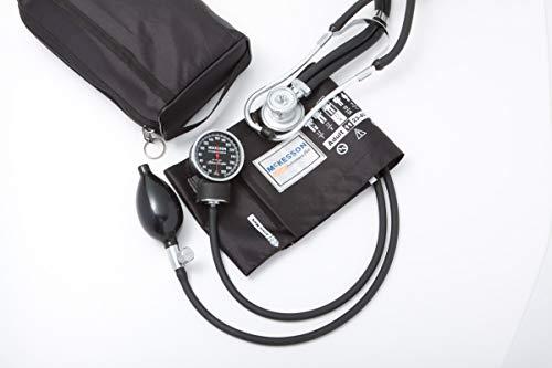 Mckesson Mckesson Aneroid Sphygmomanometer Stethoscope Combo Adult Arm (#01-768-641-11Abkgm, Sold Per Box)