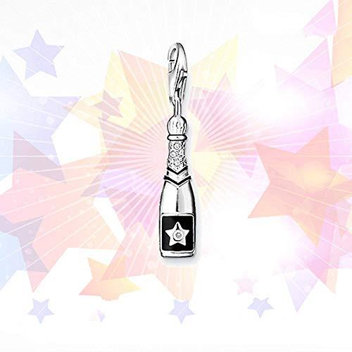 Colgantes De para Mujer,Personalidad Moderna Mosaico Chainless Estrellas Champagne Forma Encante para Señoras Vacaciones Regalo Regalo De San Valentín Navidad Regalo Joyería Actual