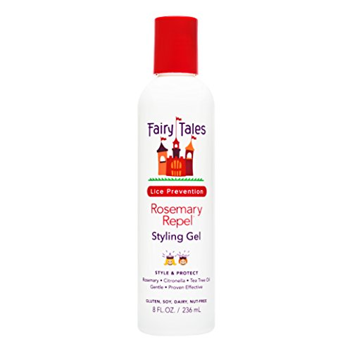 Fairy Tales Rosemary Repel Daily Kid Styling Gel for Lice Prevention, 8 Fl Oz (Pack of 1)