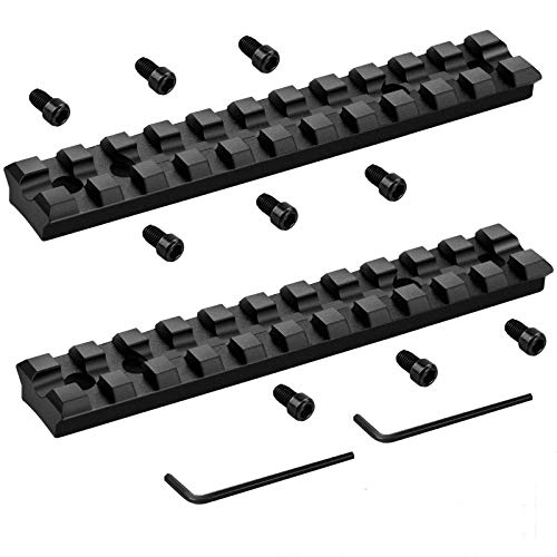 Bontok Picatinny Rail Mount for Ruger 10/22 with 11 Slots for Mounting Scopes, Red Dots, Magnifiers
