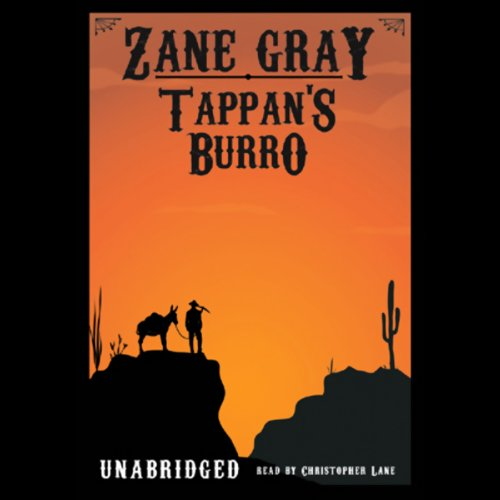 Tappan's Burro audiobook cover art