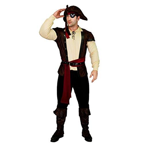 SEA HARE Trajes de Disfraces de Lujo Pirata de Lujo para Hombres Adultos