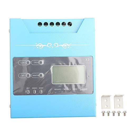 Changor Contrôleur de Charge Solaire électronique, Alliage d'aluminium de Suivi de Point d'alimentation Fabriqué Une Technologie de redressement maximale de Conversion de Conversion