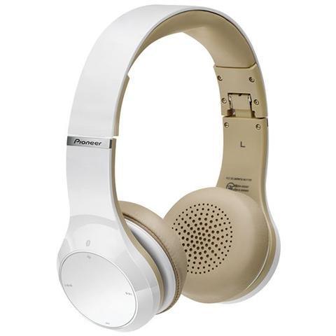 Pioneer SE-MJ771BT Kopfhörer mit Kopfbügel Bluetooth Farbe weiß