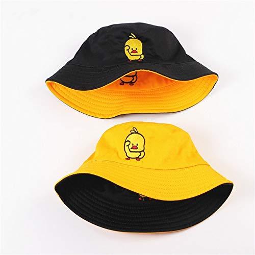 Sombrero de Verano, Sombrero deCubo de Pato Reversible para Hombres, Mujeres, Moda de algodón, niños...