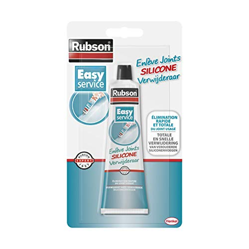 Pistolet à colle, colle Rubson Enlève joint silicone - easy service - 80 ml - rubson