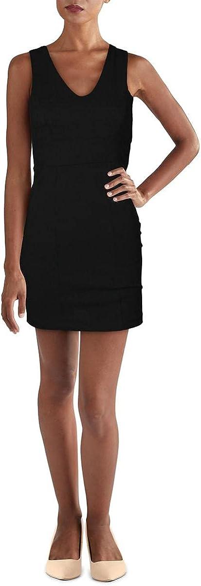 Trixxi Womens Juniors Lace-Up Mini Bodycon Dress