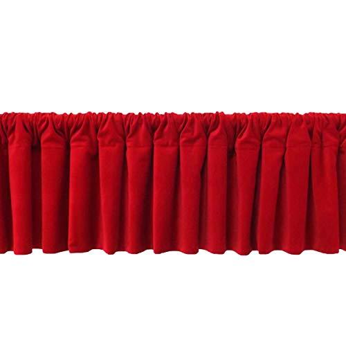 Velvet Curtain Topper Custom Made Wide Modern Home Decorative Top Window Valance