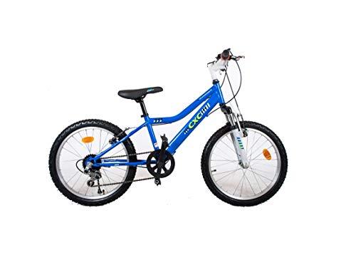 BDW Bicicleta infantil Blade de 20 pulgadas, frenos de aleación en V en el manillar, 5 velocidades, 95 % ensamblada