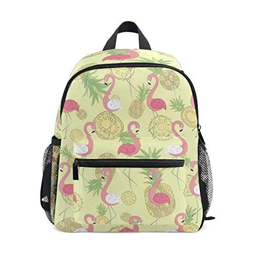 Pineapple Flamingo - Mochila escolar para niños, ideal para la escuela o de viaje