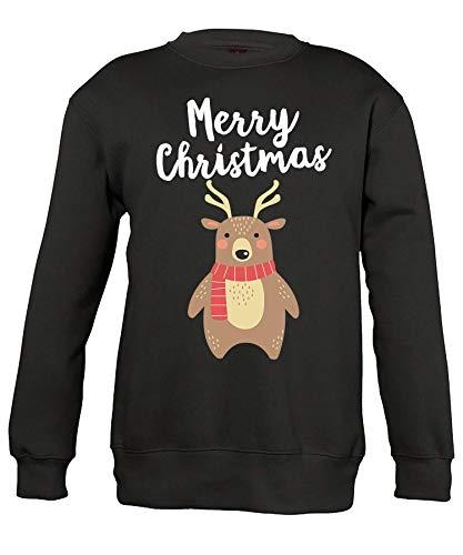 Quattro Formatee Kerstmis, Merry Christmas, X-Mas, kerstman, foute kerstoutfit, kersttrui, mooie kersttrui, voor kinderen, pullover, sweatshirt