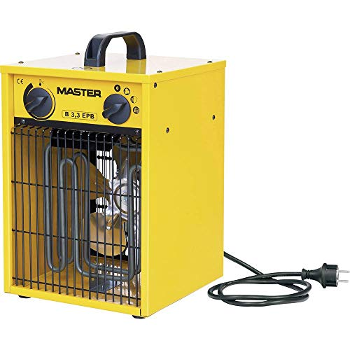 Master Klimatechnik B-3IT Heizgerät 1650 W, 3300 W Gelb, Schwarz
