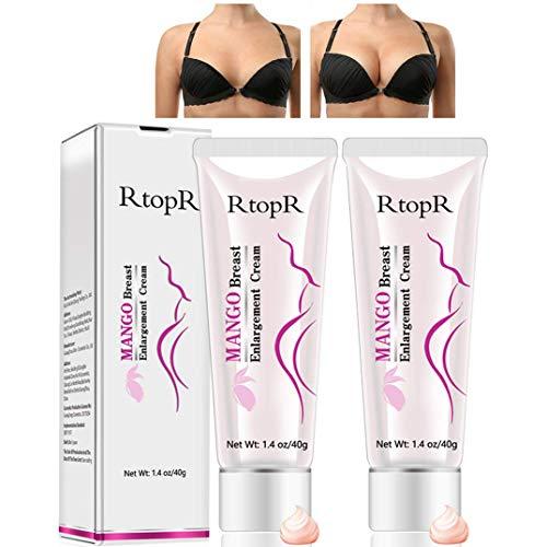 Petansy 2 Pack Upgrade Breast Cream Firming Breast Enlargement Cream Must Up Breast Cream Massage Breast Firming Tightening Big Boobs Bigger Bust for Women