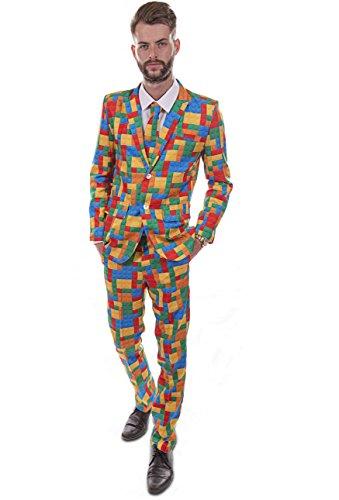 Heren Nieuwigheid Kostuum Partij Stag pak 36